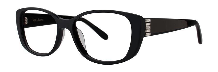 Vera Wang VA15 Black Eyeglasses Size52-15-135.00