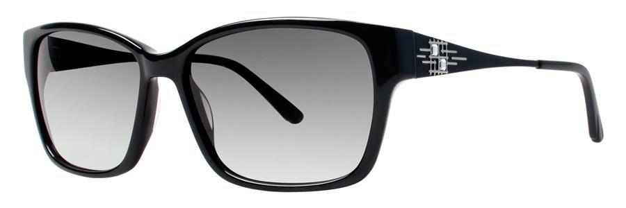 Dana Buchman VALDA Black Sunglasses Size56-15-135.00