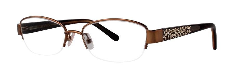 Vera Wang VALRAE Brown Eyeglasses Size53-17-135.00
