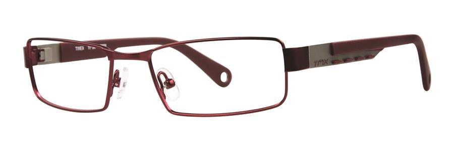 Timex VANISH Crimson Eyeglasses Size50-16-135.00