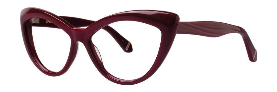 Zac Posen VERUSHKA Maroon Eyeglasses Size54-14-140.00