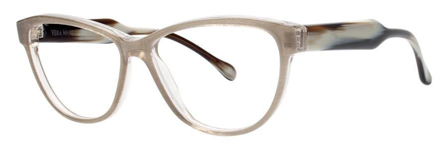 Vera Wang VEVA Taupe Eyeglasses Size56-13-140.00
