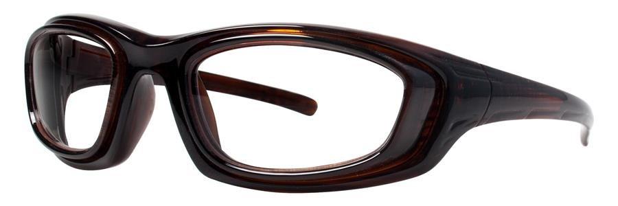 Wolverine W033 Brown Eyeglasses Size52-16-124.00