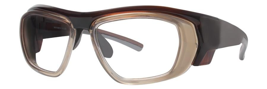 Wolverine W035 Brown Crystal Eyeglasses Size52-12-115.00