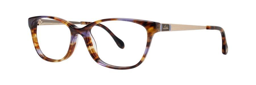 Lilly Pulitzer WAKELY Tortoise Eyeglasses Size49-15-135.00