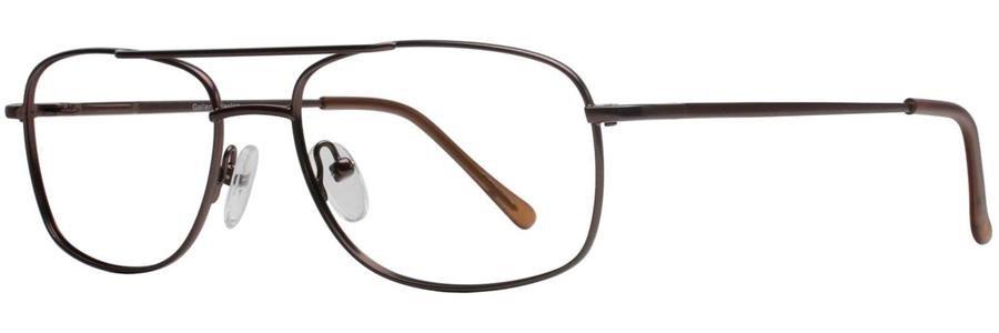 Gallery WESTON Brown Eyeglasses Size55-17-135.00