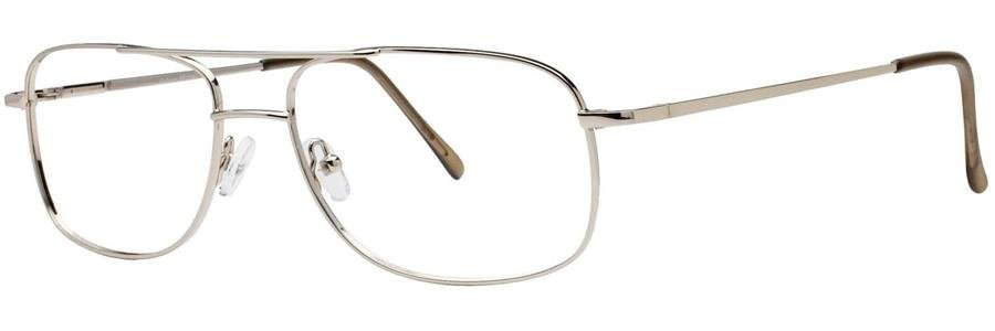 Gallery WESTON Silver Eyeglasses Size55-17-135.00