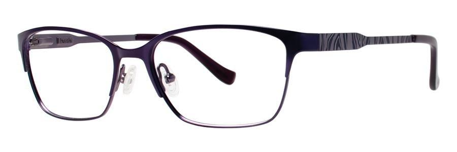 kensie WILD Purple Eyeglasses Size50-16-135.00