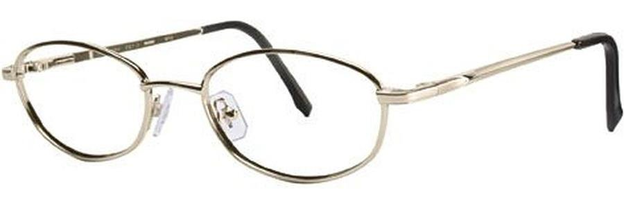 Wolverine WT12 Gold Eyeglasses Size51-18-140.00