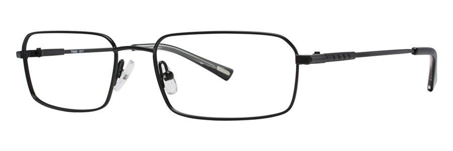 Timex X017 Black Eyeglasses Size55-17-140.00