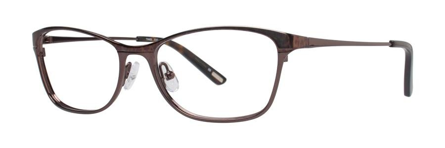 Timex X037 Brown Eyeglasses Size54-16-135.00