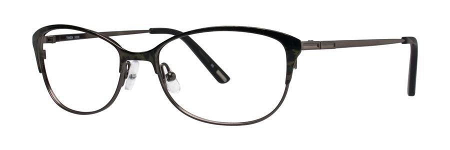 Timex X038 Black Eyeglasses Size52-16-135.00