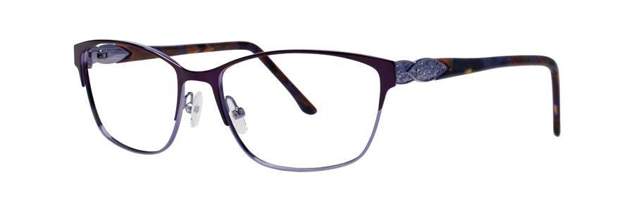 Dana Buchman YEVON Plum Eyeglasses Size52-16-135.00