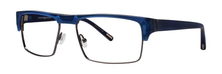 Jhane Barnes YPSILON Navy Eyeglasses Size55-17-135.00