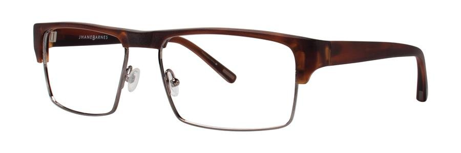 Jhane Barnes YPSILON Tortoise Eyeglasses Size55-17-135.00