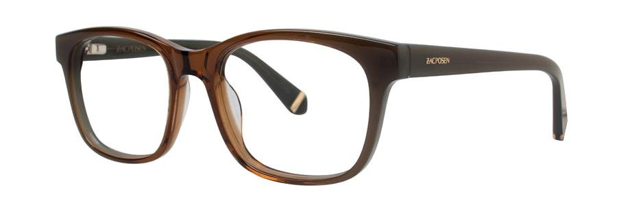 Zac Posen ZORA Brown Eyeglasses Size53-18-135.00
