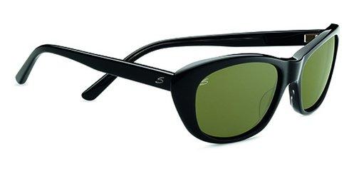 Serengeti Bagheria Black Gray  Sunglasses