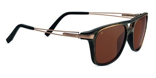 Serengeti Empoli Brown Frost  Sunglasses