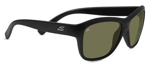 Serengeti Gabriella Shiny Black  Sunglasses
