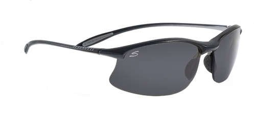 Serengeti Maestrale Satin Black  Sunglasses