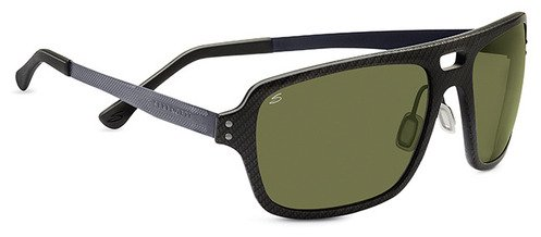 Serengeti Nunzio Shiny Carbon  Sunglasses
