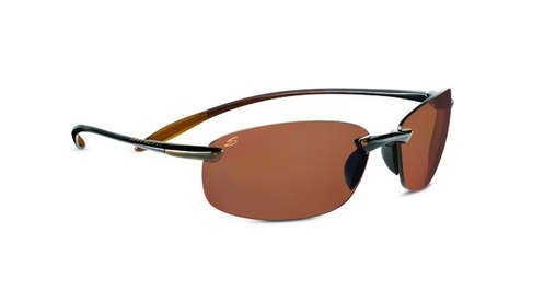 Serengeti Nuvino Shiny Brown  Sunglasses