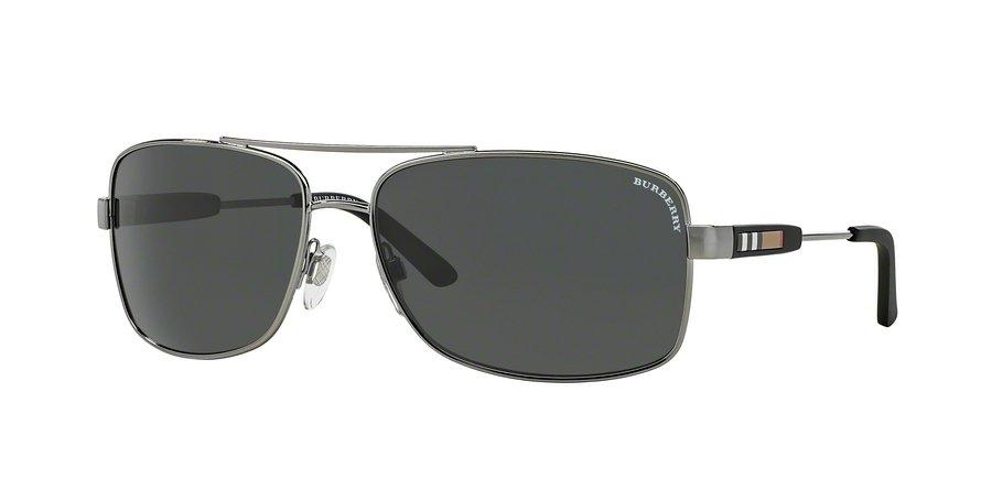 Burberry 0BE3074 Gunmetal Sunglasses
