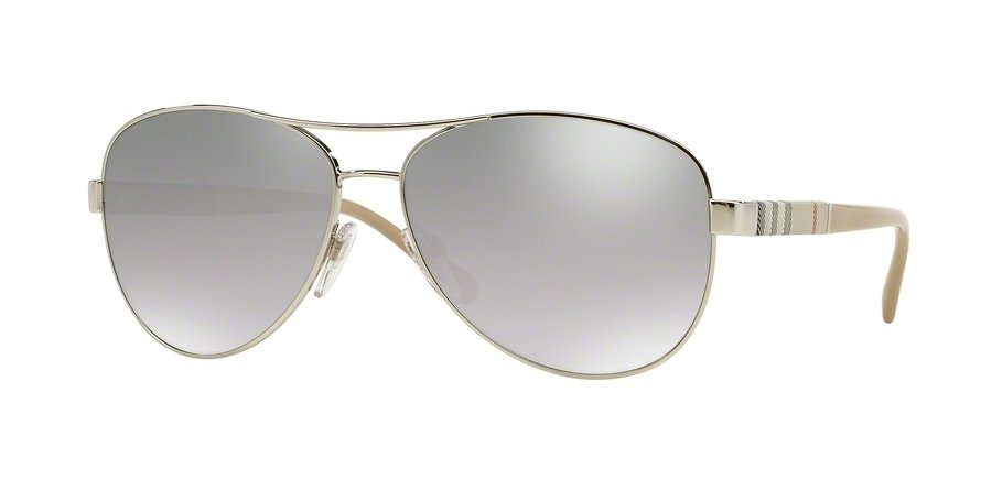Burberry 0BE3080 Silver Sunglasses