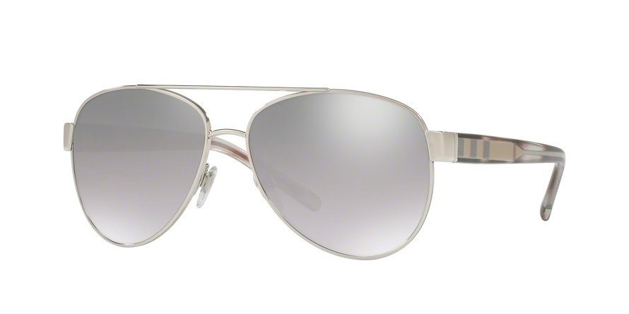 Burberry 0BE3084 Silver Sunglasses