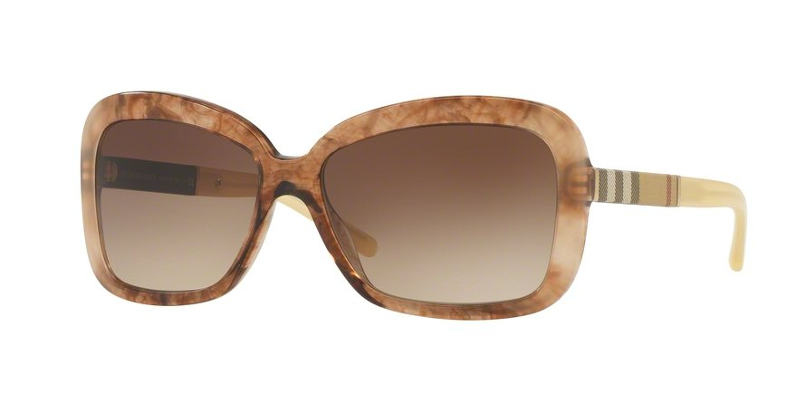 Burberry 0BE4173 Brown Sunglasses