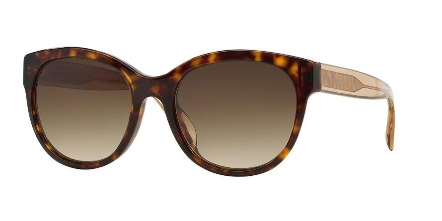 Burberry 0BE4187 Havana Sunglasses