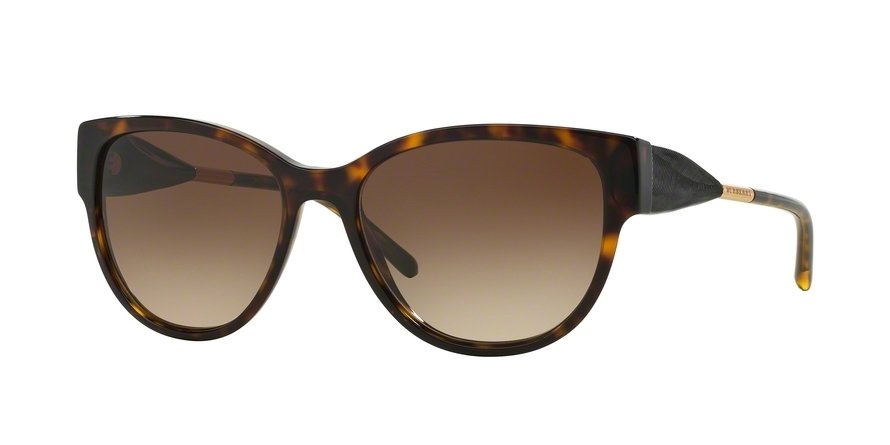 Burberry 0BE4190 Havana Sunglasses