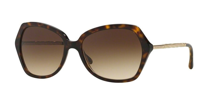 Burberry 0BE4193 Havana Sunglasses