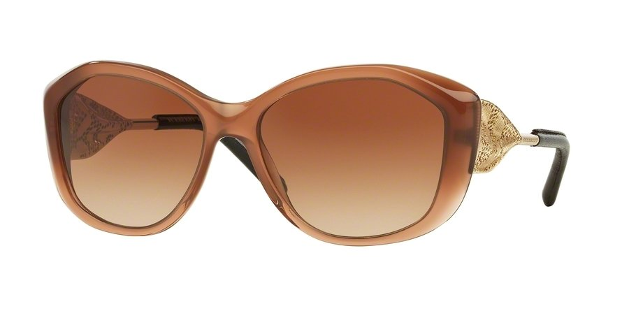Burberry 0BE4208QF Brown Sunglasses