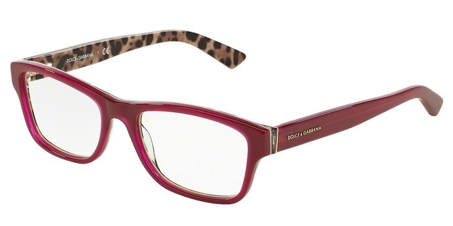 Dolce & Gabbana 0DG3208 Bordeaux Eyeglasses