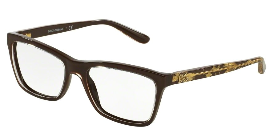 Dolce & Gabbana 0DG3220 Brown Eyeglasses