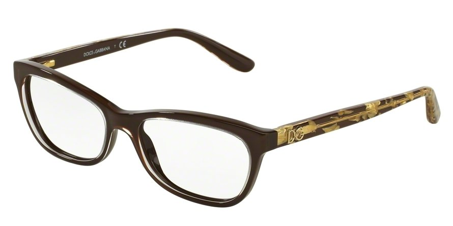 Dolce & Gabbana 0DG3221 Brown Eyeglasses