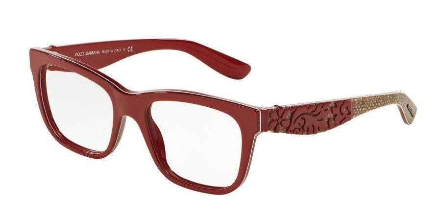Dolce & Gabbana 0DG3239F Red Eyeglasses