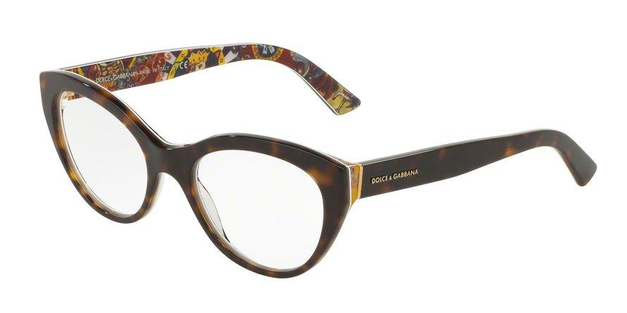 Dolce & Gabbana 0DG3246 TOP HAVANAHANDCART Eyeglasses