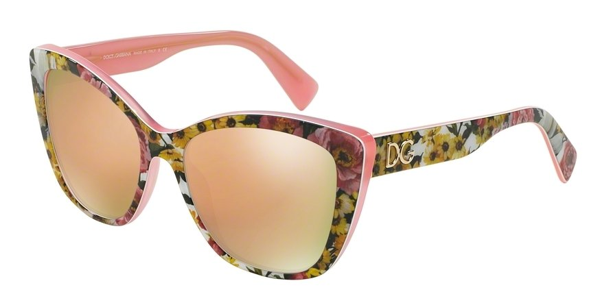 Dolce & Gabbana 0DG4216 TOP BOUQUET ON PINK Sunglasses