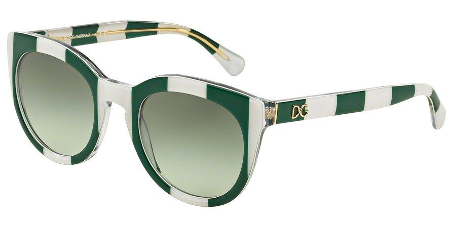 Dolce & Gabbana 0DG4249 STRIPE GREENWHITE Sunglasses