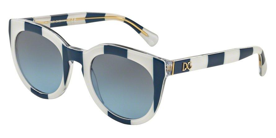 Dolce & Gabbana 0DG4249 STRIPE BLUEWHITE Sunglasses