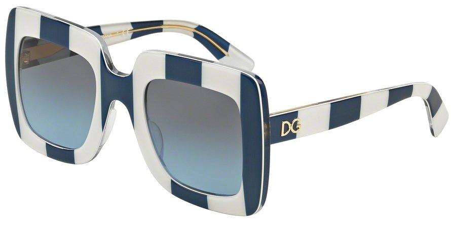 Dolce & Gabbana 0DG4263 STRIPE BLUEWHITE Sunglasses