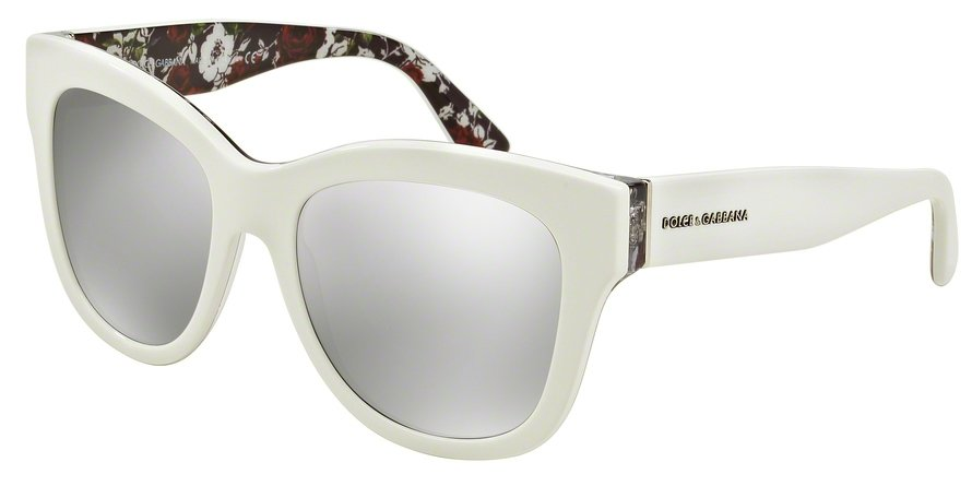 Dolce & Gabbana 0DG4270 TOP WHITEPRINT ROSE Sunglasses