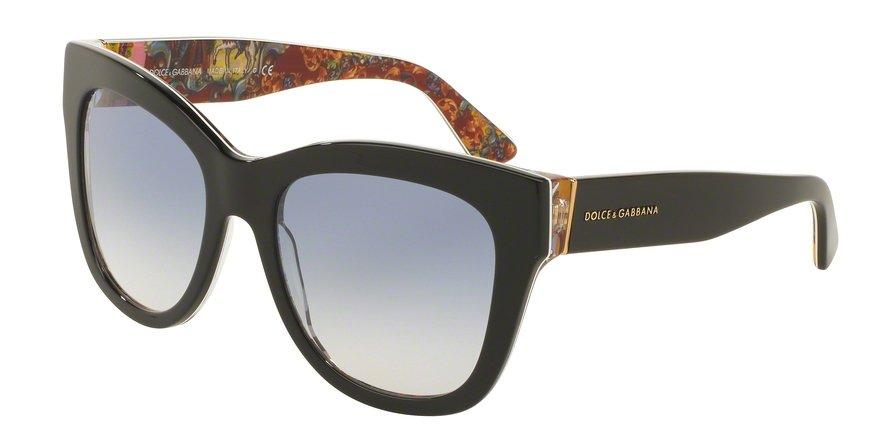 Dolce & Gabbana 0DG4270 TOP BLACKHANDCART Sunglasses