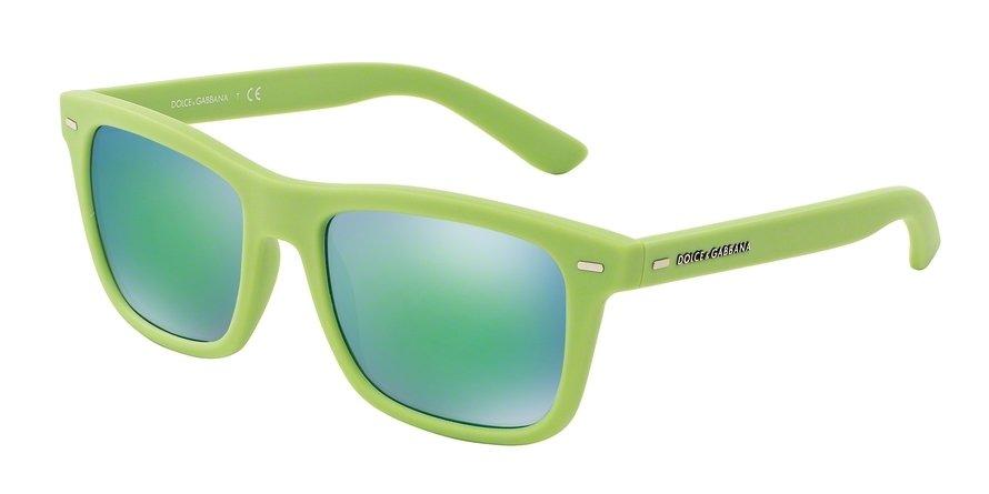 Dolce & Gabbana 0DG6095 ACID GREEN RUBBER Sunglasses