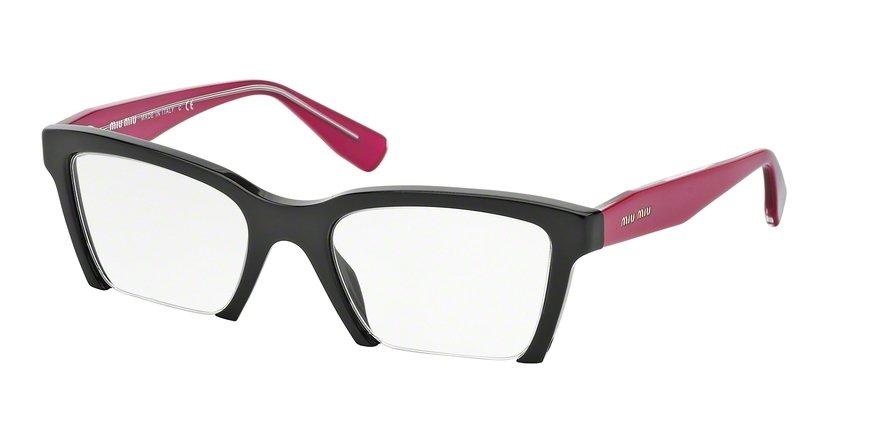 MU 0MU 04NV Black Eyeglasses