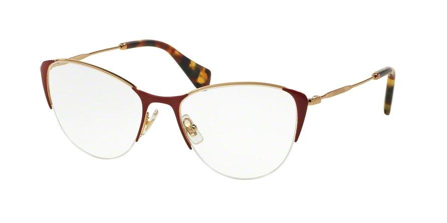 MU 0MU 50OV Red Eyeglasses