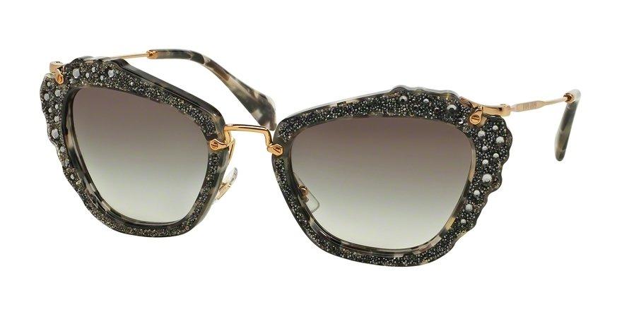 MU 0MU 04QS Havana Sunglasses