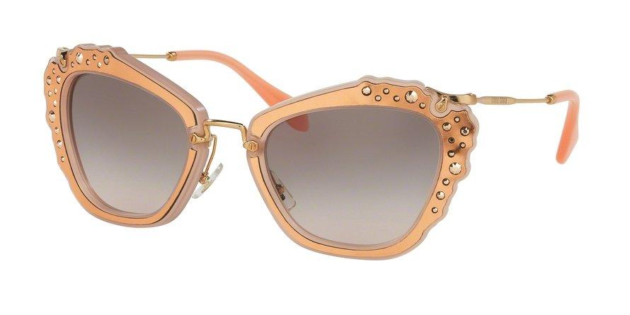 MU 0MU 04QS Pink Sunglasses